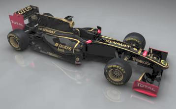 Lotus Renault 2011 Formula One car
